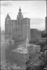 City Hall and Municipal Building, Civic Center, January 4, 2011, Gelatin silver print