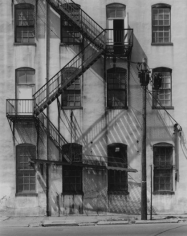 George Tice Factory Facade, Spruce Street, Paterson, New Jersey, 2003