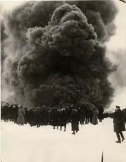 Fire at Oil Well, Baku, 1929