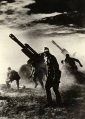 Stay Till Death, 1944, Gelatin silver print