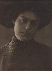 Nikolai Petrov Portrait of an Actress, 1908