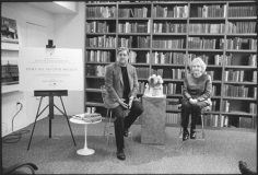 Conversation on civil society, Institute for American Values, Columbus Circle, September 22, 2011, Gelatin silver print