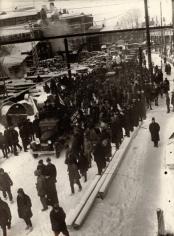 The First Cars from Gorky Plant, Nizhny Novgorod, 1930