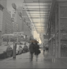 Alexey Titarenko, Couple with Umbrella, NYC, 2014