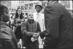 Meeting the candidate, Harlem, October 19, 2010, Gelatin silver print