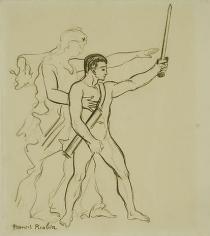 Nurse and swordsman