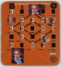 John Ashbery Bingo Beethoven