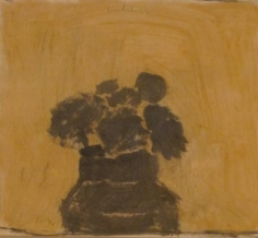 Untitled 1962 oil and graphite on paper