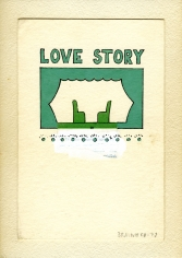 Joe Brainard Untitled (Love Story), 1975