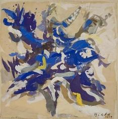 Untitled (Blue Tree)