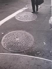 Curb 1970 gelatin-silver print
