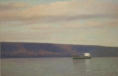 Tanker on the Hudson