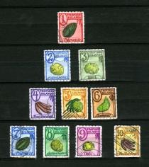 Donald Evans Tropides Islands, 1939.  Fruits.