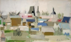 Talcy 1962 oil on canvas