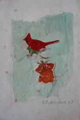 Joe Brainard Untitled (Cardinal Rose)