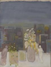 Window 2009 oil on paper