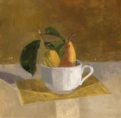 Fruit in a White Cup