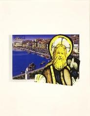 Samos 2010 collage, digitized print