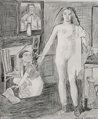 Balthus Teenage Nude