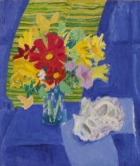 Nell Blaine Blue Cloth, 1980