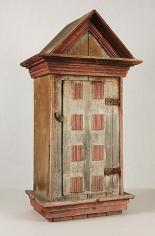 Artist Unknown Votive Cabinet