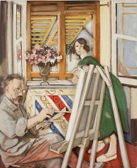 Matisse in Nice (At Work)