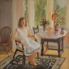 Fairfield Porter, Claire White, 1960