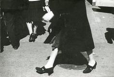 Sidewalk 1939 gelatin-silver print