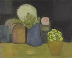 Bouquets 2011 oil on linen