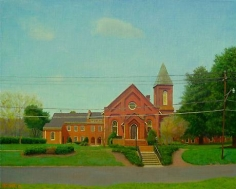 Church, Early Spring 11am