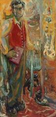 The Door of Manycolord Glass Opend, ImaginaryPortrait #1, Robert Duncan