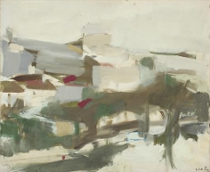 Portiers 1964 oil on canvas