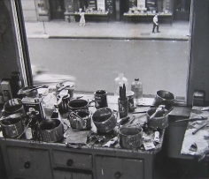 RUDY BURCKHARDT De Kooning Studio I
