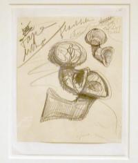 "Claes Oldenburg Studies of ""Airflow"" Horns"