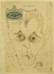 Portrait of Man Ray