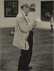 Untitled (Professor in an Art Gallery)