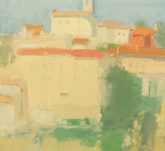 Migiana, Late Afternoon Glow, From Just Beneath My Studio Window