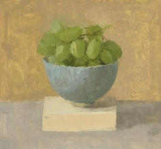 Green Grapes in a Turquoise Teacup II