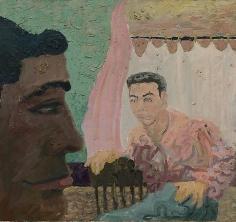 A Meeting Ground: Imaginary Portrait #11: Chester Vielalba and Robert Steinberg