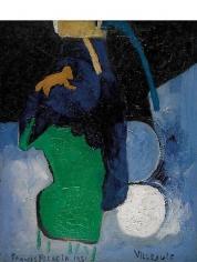 Villejuif 1951 oil on canvas