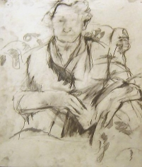 The Artist's Mother Seated in a Chair