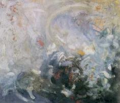 Subsidence 1952 oil on canvas