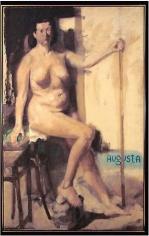 Augusta 1954 oil on canvas