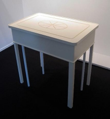 ROY McMAKIN A Painted Entry Hall Table