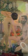 Hyakinthos-Apollon 1962 oil on canvas