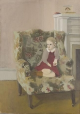 Katie in an Armchair