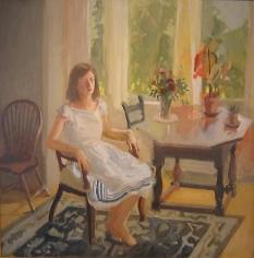 FAIRFIELD PORTER Claire White