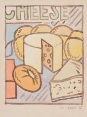 JOE BRAINARD Untitled (Cheese)