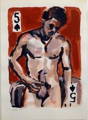 Walter Robinson 5 of Spades