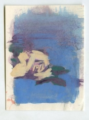 Untitled (Rose with Blue)